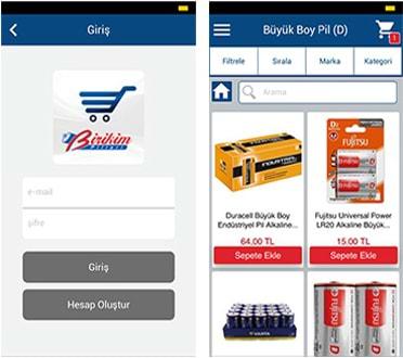 Birikim Pilleri Mobil Uygulama Ekran Görüntüleri