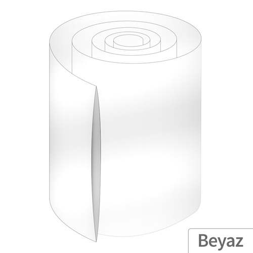 Power-Xtra 150mm 5 Metre PVC Heat Shrink Beyaz